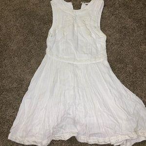 EUC white Free People dress